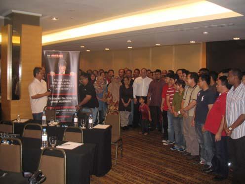 Seminar XM.COM baru-baru kat Malaysia